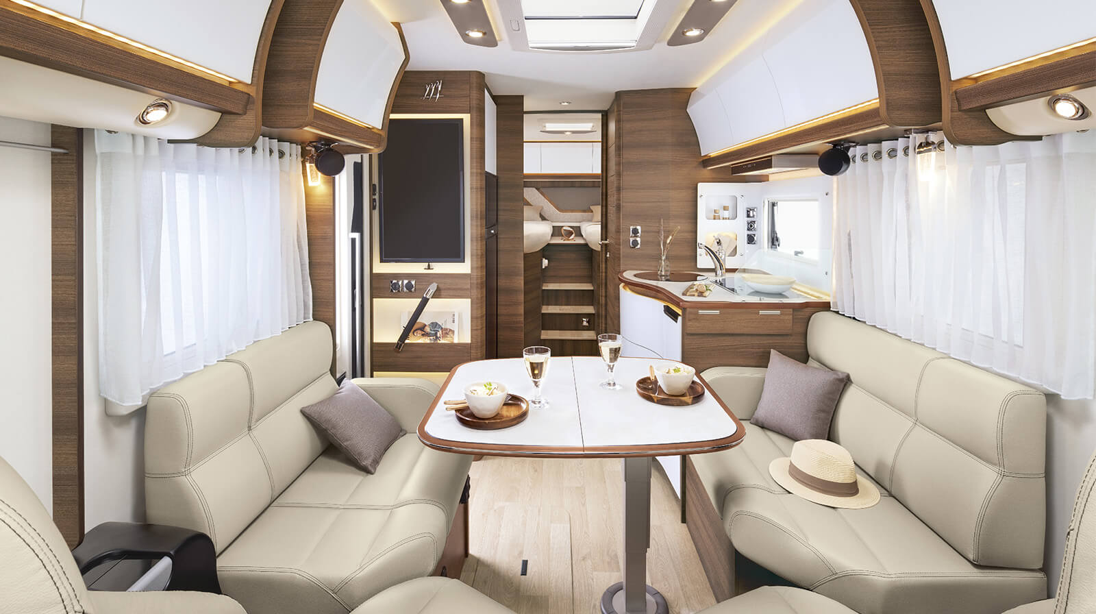 Interior photos RAPIDO Camper M66